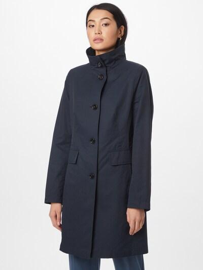 GIL BRET Manteau mi-saison en bleu foncé, Vue avec modèle