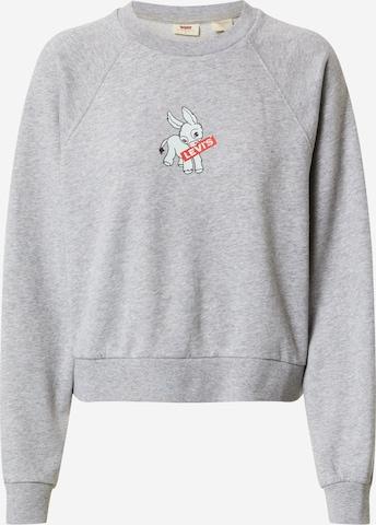 LEVI'S Sweatshirt i grå