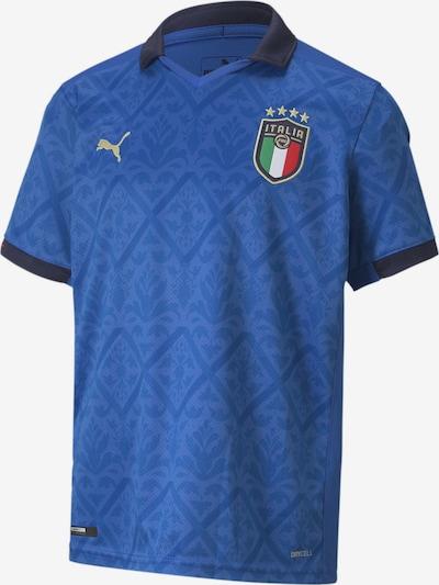 PUMA Trikot 'Italien Home EM 2021' in blau / nachtblau / hellgrün / mischfarben / melone, Produktansicht