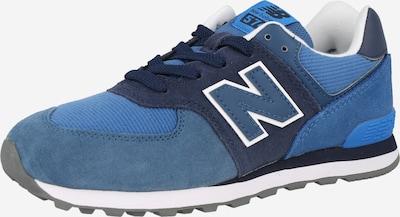 new balance Sneaker in indigo / taubenblau / weiß, Produktansicht