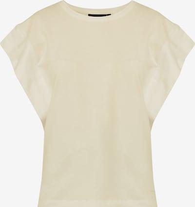 Finn Flare Rundhals-Shirt in hellgelb, Produktansicht