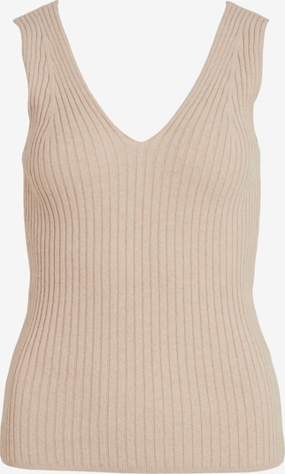 VILA Knitted top 'Lisiane' in Light beige, Item view