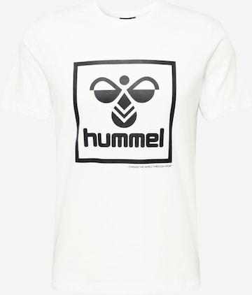 Hummel Λειτουργικό μπλουζάκι 'hmlISAM' σε λευκό