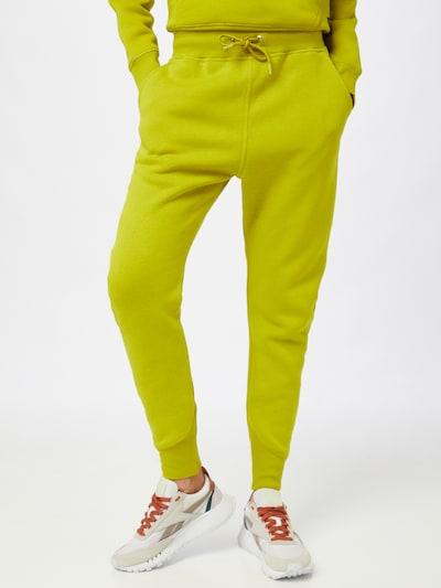 Pantaloni 'Premium' G-Star RAW pe galben lămâie, Vizualizare model