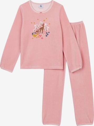 PETIT BATEAU Schlafanzug in Pink