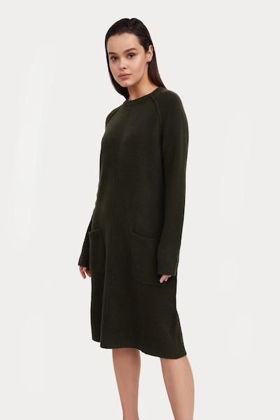 Finn Flare Dress in Dark green, View model