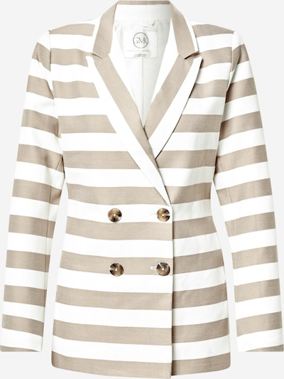 Guido Maria Kretschmer Collection Blazer 'Daria' in beige / weiß, Produktansicht
