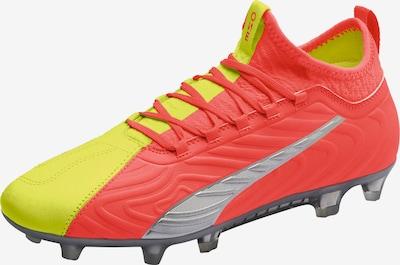 PUMA Voetbalschoen in de kleur Geel / Lichtrood, Productweergave