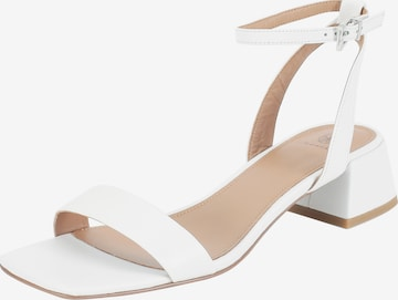 Ekonika Strap Sandals in White