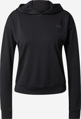 THE NORTH FACE Sportsweatshirt i svart