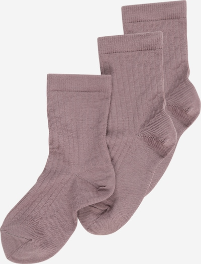 mp Denmark Socken in lila, Produktansicht