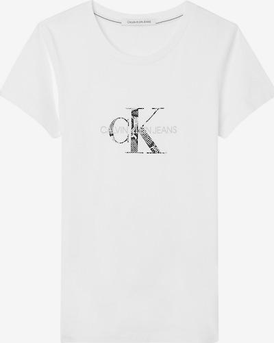 Marškinėliai iš Calvin Klein Jeans, spalva – juoda / balta, Prekių apžvalga