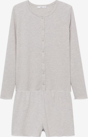 MANGO Pyjama 'Conju-I' in hellgrau, Produktansicht
