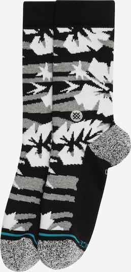 Stance Chaussettes de sport 'KUKIO' en gris / noir / blanc, Vue avec produit