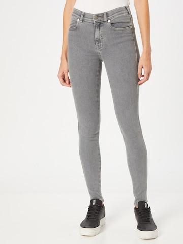 Dr. Denim Jeans 'Lexy' in Grijs