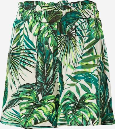 Pantaloni 'ALMA' ONLY di colore giada / verde erba / verde chiaro / bianco, Visualizzazione prodotti