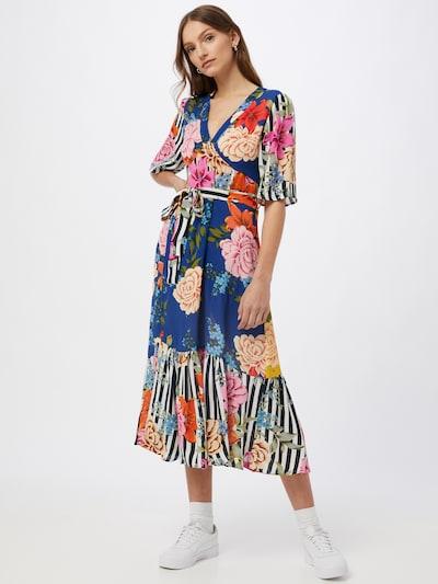 Derhy Kleid 'SIMEON' in marine / türkis / mischfarben, Modelansicht