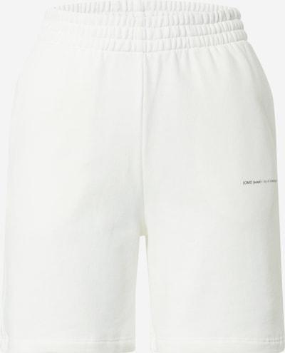 Gina Tricot Панталон 'Nora' в бяло: Изглед отпред