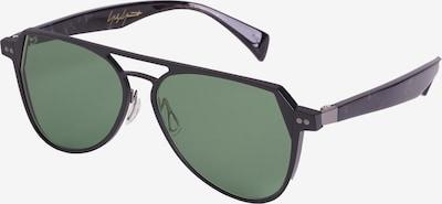 Yohji Yamamoto Eyewear Pilotenbrille 'YY7042-801' in schwarz, Produktansicht