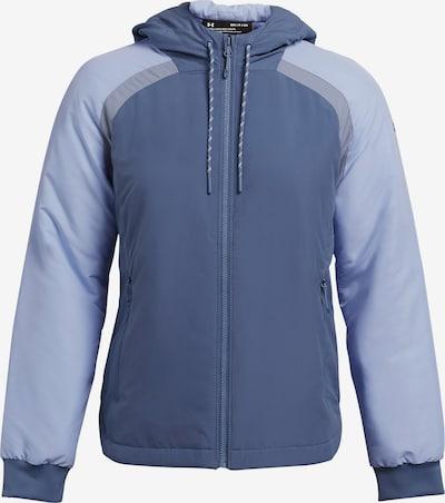 UNDER ARMOUR Sportjacke 'Sky Insulate' in rauchblau / hellblau, Produktansicht