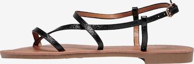 Flip-flops 'Melly' ONLY pe negru, Vizualizare produs