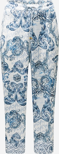 River Island Plus Pidžamas bikses zils / dūmu zils / balts, Preces skats