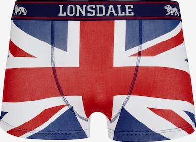 LONSDALE Trunk 'TISBURY' in blau / rot / weiß, Produktansicht