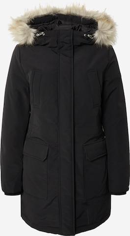 Tommy Jeans Parka zimowa w kolorze czarny