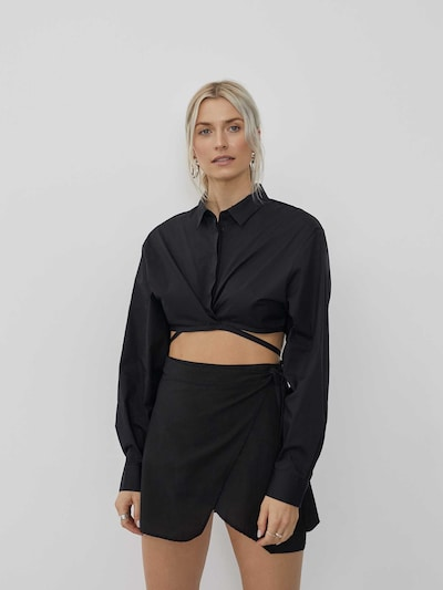 Camicia da donna 'Liana' LeGer by Lena Gercke di colore nero, Visualizzazione modelli