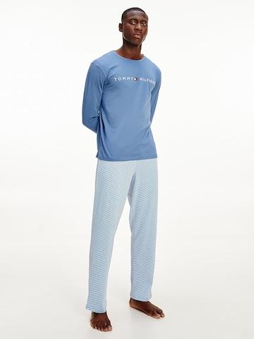Tommy Hilfiger Underwear Undertrøye 'CN LS Tee Logo' i blå