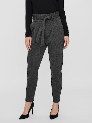 VERO MODA Plissert bukse 'Eva' i grå