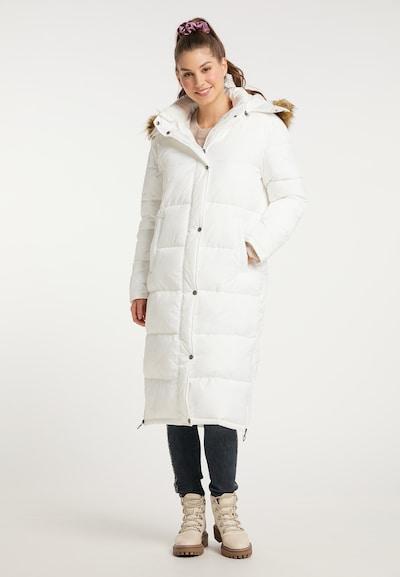 MYMO Mantel in weiß, Modelansicht