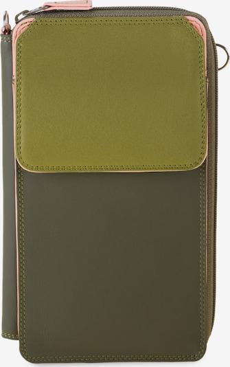 mywalit Geldbörse in oliv / pastellpink / hellpink, Produktansicht