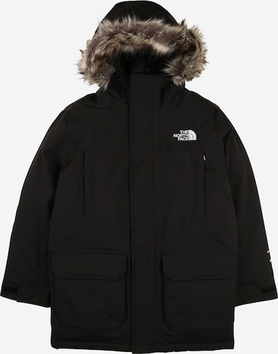 THE NORTH FACE Outdoorová bunda 'MCMURDO' - svetlohnedá / čierna / biela, Produkt