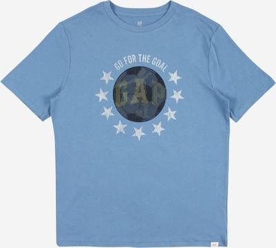 GAP Majica | dimno modra / črna / bela barva, Prikaz izdelka
