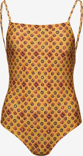 Superdry Badpak in de kleur Mosterd / Rood / Zwart / Wit, Productweergave