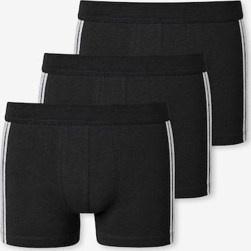 SCHIESSER Boxer shorts in Black