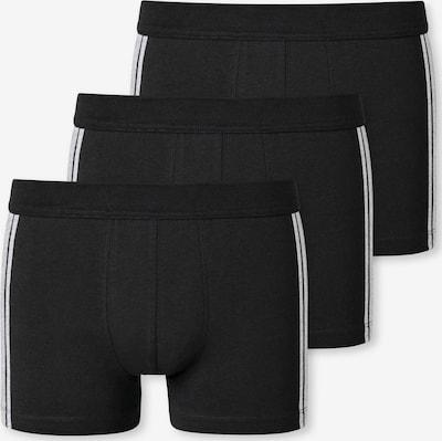 Boxeri SCHIESSER pe negru / alb, Vizualizare produs