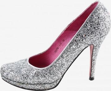 Buffalo London High Heels & Pumps in 38 in Silver