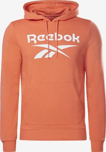 Reebok Classics Sweatshirt in de kleur Sinaasappel / Wit, Productweergave