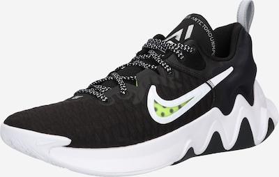 NIKE Sportschoen 'Gianni' in de kleur Neongeel / Zwart / Wit, Productweergave