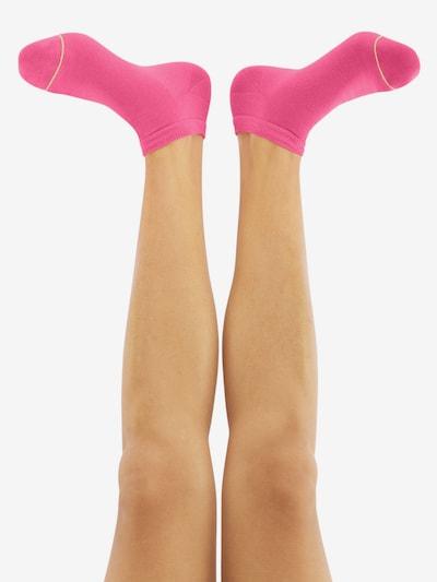 CHEERIO* Socken 'SNEAKER PAL' in pink: Rückansicht