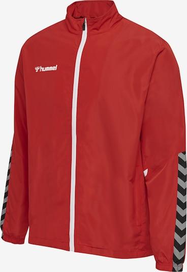 Hummel Sportjas in de kleur Rood, Productweergave