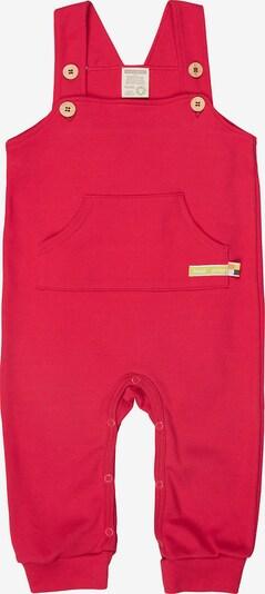 loud + proud Strampler in rot, Produktansicht