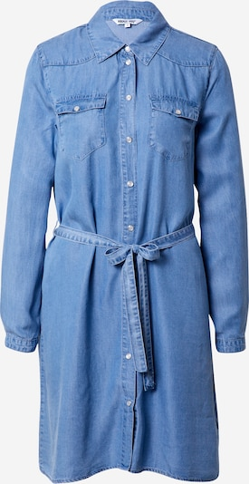 ABOUT YOU Kleid 'Arabella' in blue denim: Frontalansicht