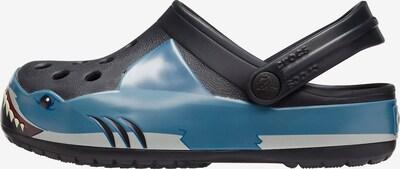 Crocs Clogs in blau / schwarz, Produktansicht