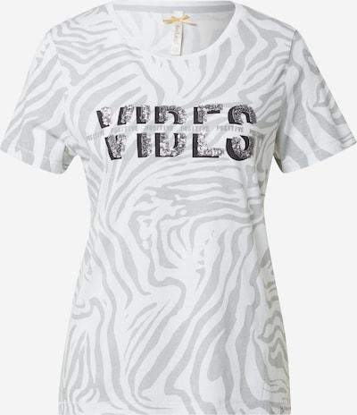 Key Largo Shirt in grau / schwarz / silber / weiß, Produktansicht