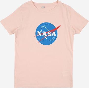 Mister Tee Shirt 'NASA Insignia' in Pink