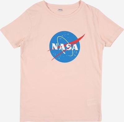 Mister Tee Shirt 'NASA Insignia' in blau / rosa / rot / weiß, Produktansicht