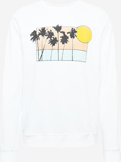 Bluză de molton DEDICATED. pe mai multe culori / alb, Vizualizare produs